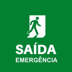Saída - Iluminação de Emergência