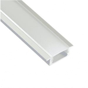 Calha de alumínio para fitas led